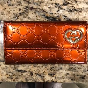 Gucci continental wallet